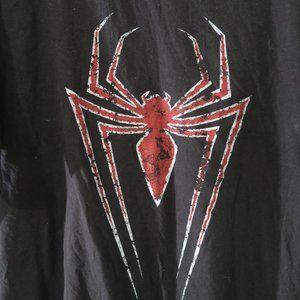 Marvel Spiderman Big Logo Graphic Tee
